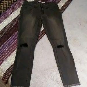Bongo crop jeans. Worn once.
